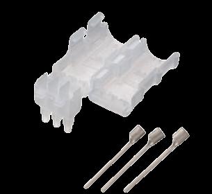 絶縁カバー付3心棒形状圧着端子(3.5・5.5mm2用/20セット)