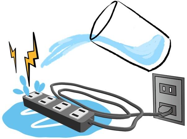 ブレーカ ショート 電源タップ