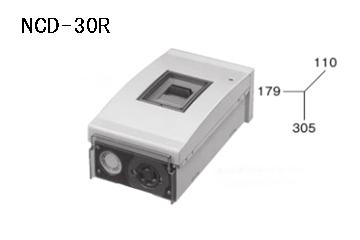 ケースブレーカ 屋外用 配線保護用 NCD-30R 30AF プラスティック コンセント付