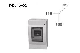ケースブレーカ 配線保護用 NCD-30 30AF プラスティック